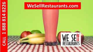 Smoothie Franchise Business for Sale in Alabama!