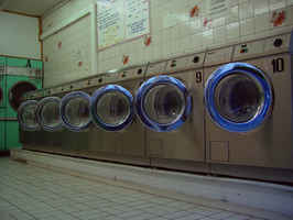 Est. Coin Operated Laundromat w/ Dry Cleaning Drop
