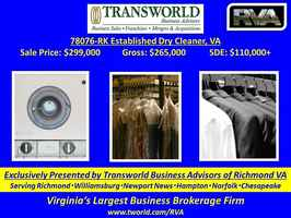 78076-RK Established Dry Cleaner, VA
