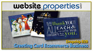 Dropship B2B Greeting Card Ecommerce Business