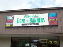 Locally Owned Sign Shop Since 1989