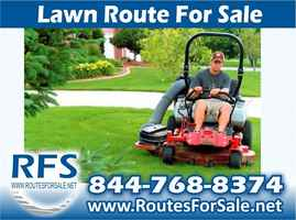 Lawn Mowing Route Business, Tampa