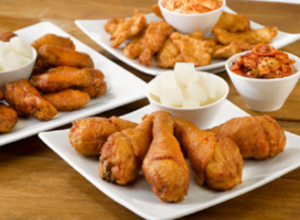 Korean Chicken Quick Service Franchise Restaurant