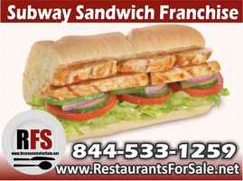 Subway Sandwich Franchise For Sale - Tampa