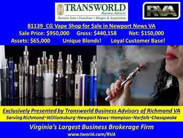 81139_CG Vape Shop with Specialty Blends for Sale