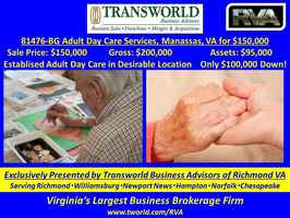81476-BG Adult Day Care Services, Manassas, VA