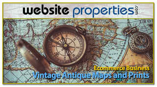 Vintage Antique Map and Print Ecommerce Business