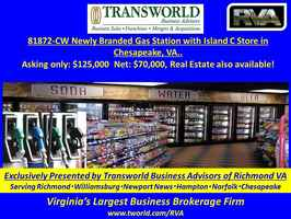 81872-CW Newly Branded Gas Station w/C-store