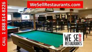 Sports Bar and Grill with Real Estate for Sale