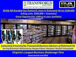 82356-RB Branded Gas Station/C-store in Richmond