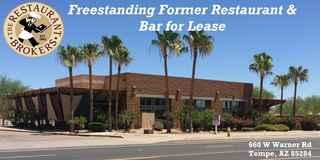Freestanding Restaurant/Bar for Lease