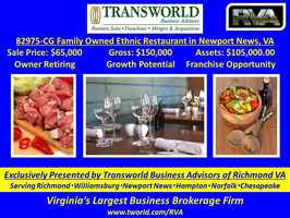 82975-CG Family Owned Ethnic Restaurant in Newport