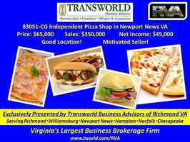 83051-CG Independent Pizza Shop in Newport News VA