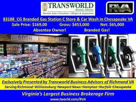 Branded Gas Station, C-Store, Car Wash - 83188-CG