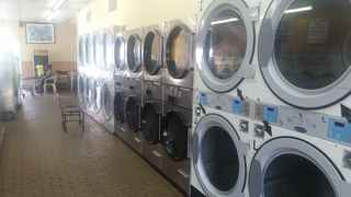 Laundry with 2,595 sf Free Standing Building