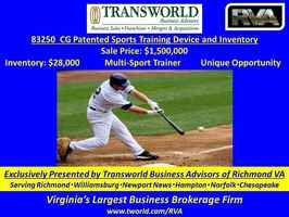 83250 CG Sports Training Patent and Inventory