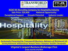 83287 RF Recruiting Company for Hospitality Ind.