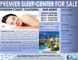 Premier Sleep Center For Sale