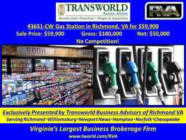43651-CW Gas Station in Richmond, VA for $59,900