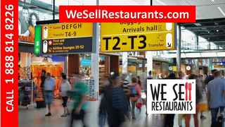 Airport Restaurant for Sale Profitable/Successful