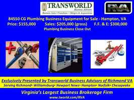 84550 CG Plumbing Business Equipment