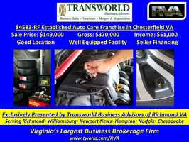 Established Auto Care Franchise - 84583 RF