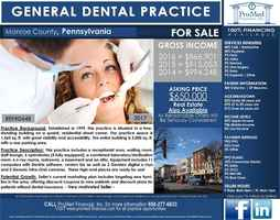 Reduced Price! Established Dental Practice PA