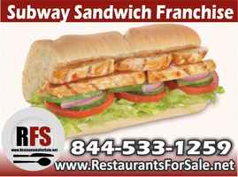 Subway Sandwich Franchise For Sale York - PA