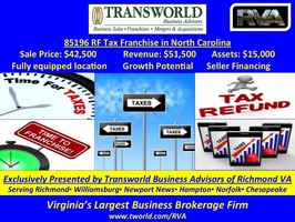 Established Tax Franchise - 85196 RF