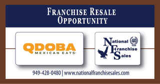 Wow! $300+k Cash Flow Qdoba franchise