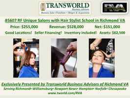 85607 RF Upscale Salons and Hair Stylist School