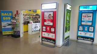 Multi Carrier Cellphone Phone & Payment Store