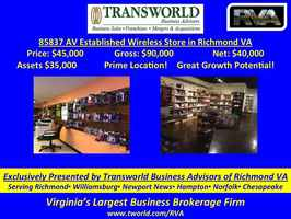 85837 AV Established Wireless Store in Richmond VA