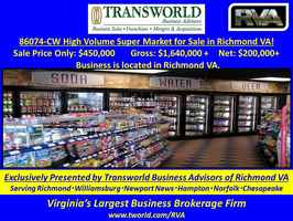 86074-CW High Volume Super Market for Sale