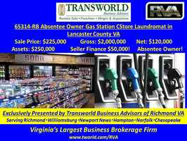 65314-RB Absentee Owner Gas Station CStore Laundry
