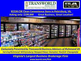 81534-CW Clean Convenience Store in Petersburg, VA