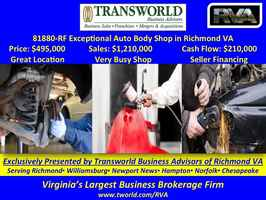 81880-RF Exceptional Auto Body Shop in Richmond VA