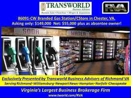 86091-CW Branded Gas Station/CStore in Chester, VA