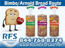 Arnold & Bimbo Bread Route for Sale Lincolnton, NC