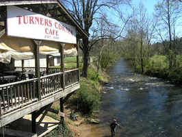 Restaurant on Chestatee River w/R.E. and 3 Cabins