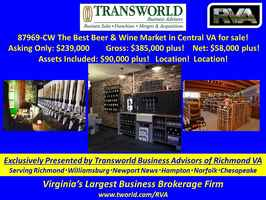 87969-CW The Best Beer & Wine Market in Central VA