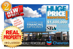 Remodeled Chevron Station Property!