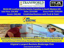 86162-RB / Leading Electrical Service Franchise