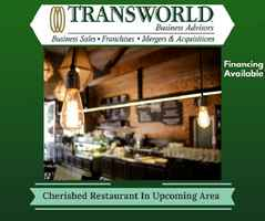 Cherished Restaurant In Up And Coming Area