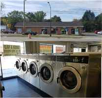 Updated coin laundry w great location & property