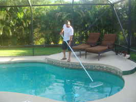Pool Service Route in Plano!