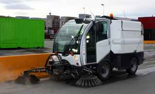 Commercial Sweeping/Striping Business