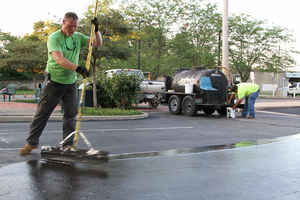 Franchised Seal Coating, Asphalt Repair Business