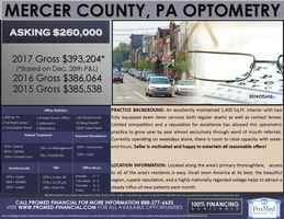 Highly Regarded Mercer County, PA Optometry