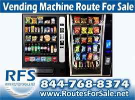 Snack and Soda Vending Route, Pinellas County, FL